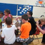 Art classes with Mr. Todd during summer camp