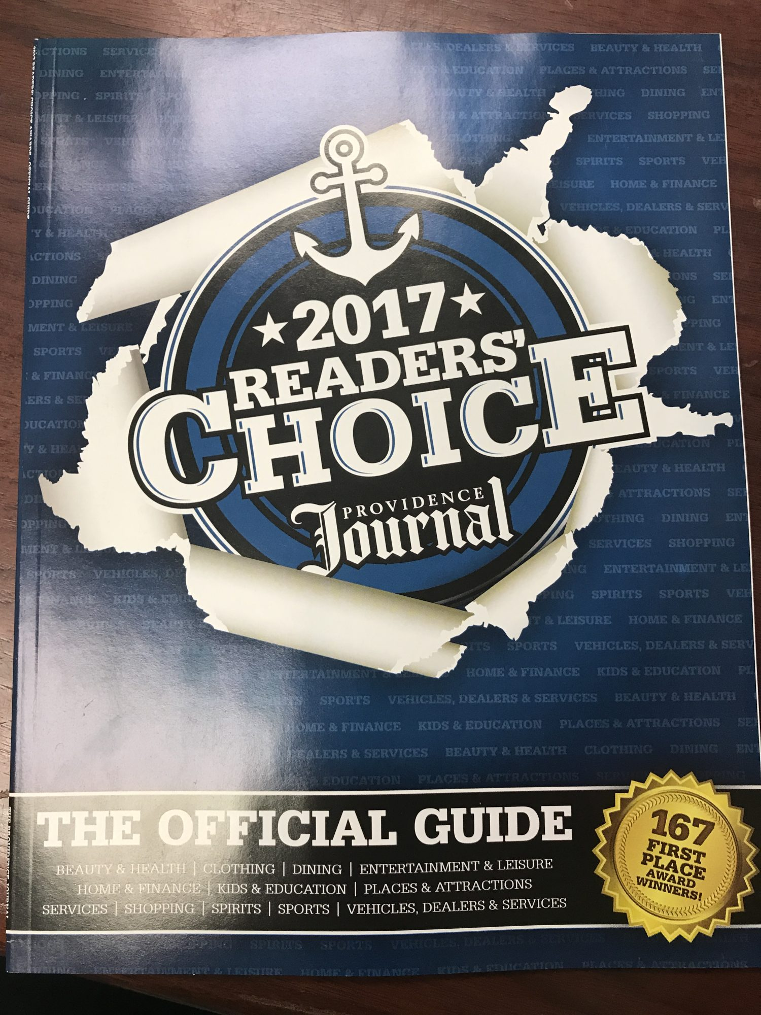 Reader's Choice Awards!