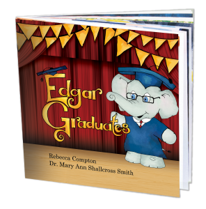 Edgar Graduates book cover with pages