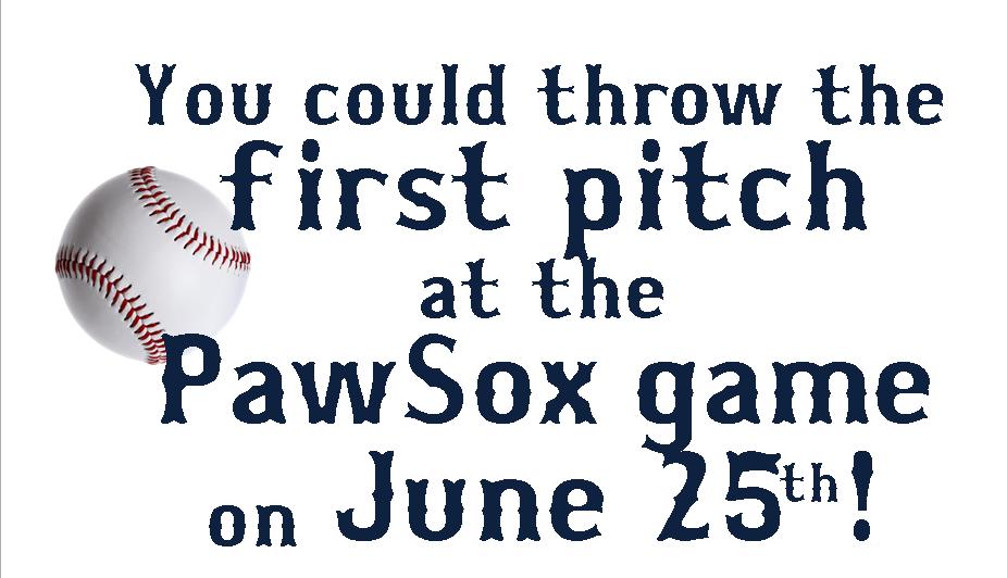 PawSox first pitch