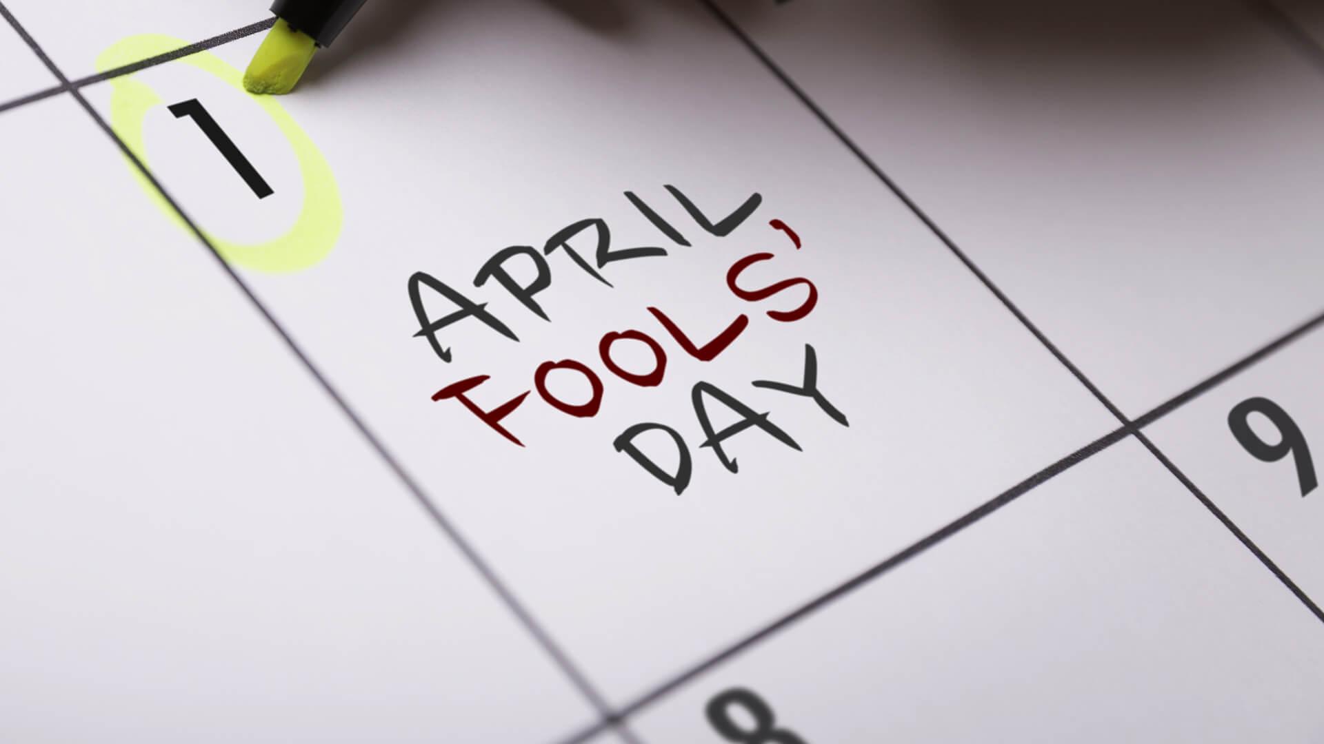 April Fools!  Fun ideas for families