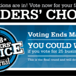 Please vote for us!  ProJo Readers' Choice Awards.