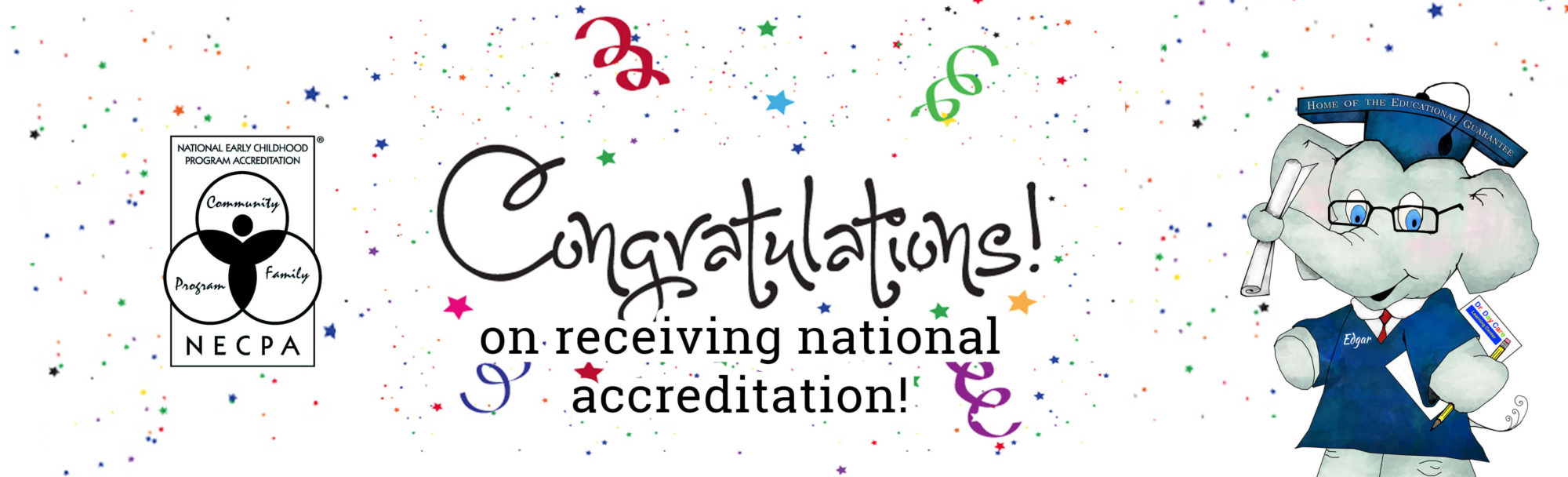 Congratulations DDC Foster on earning National Accreditation!