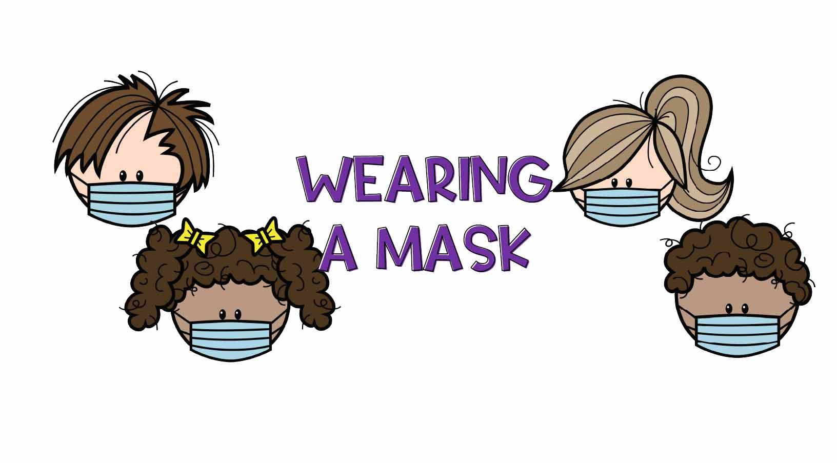 Wearing a Face Mask – tips to teach children