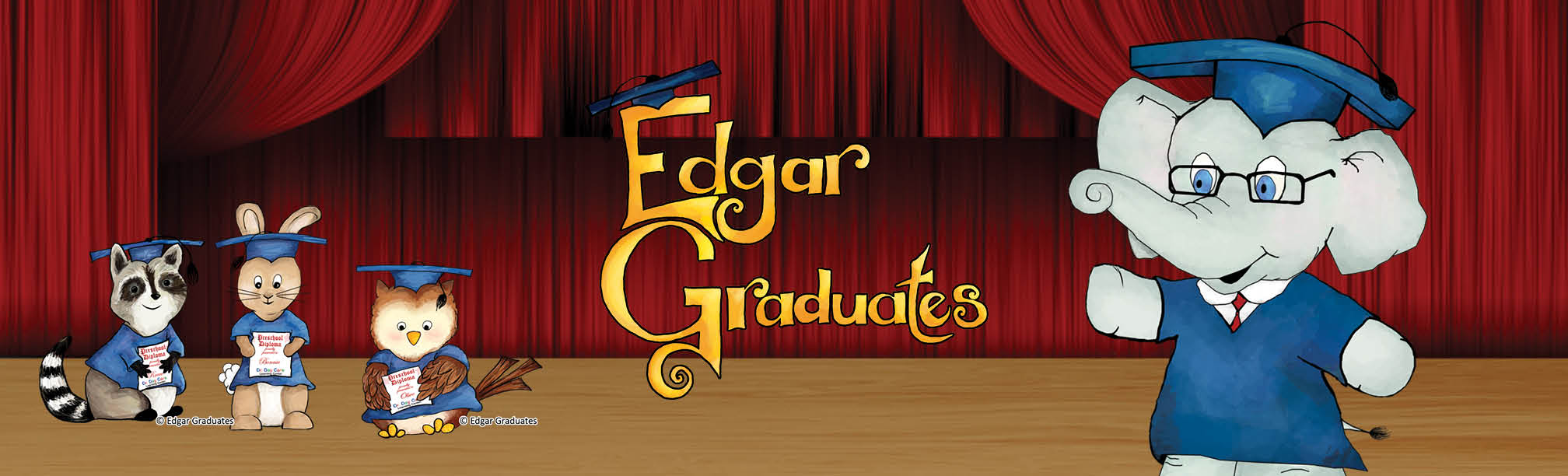 Edgar Graduates – book about graduation