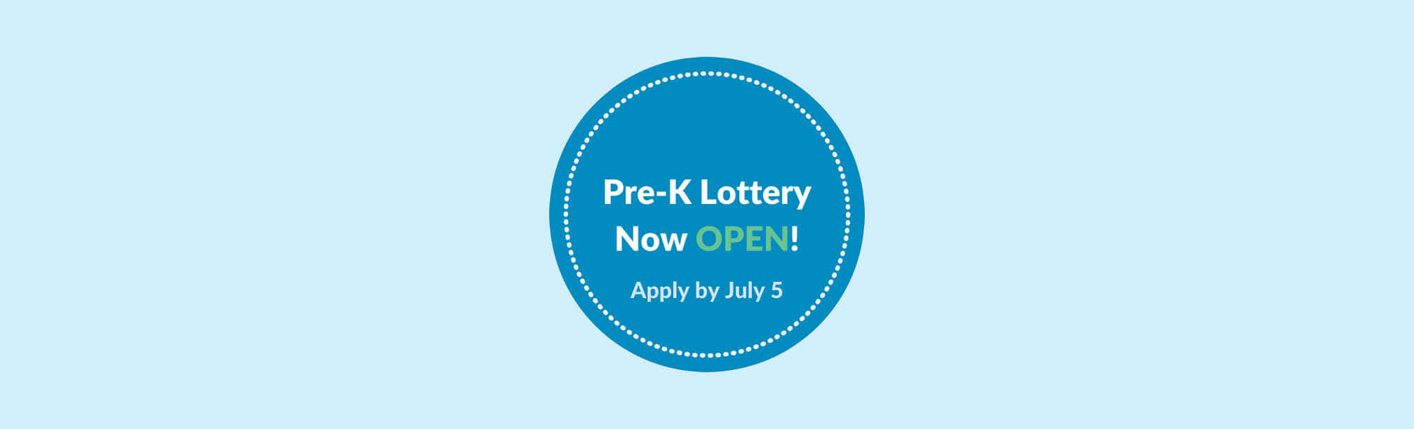 2020-2021 RI State Pre-K Lottery is Open at Dr. Day Care