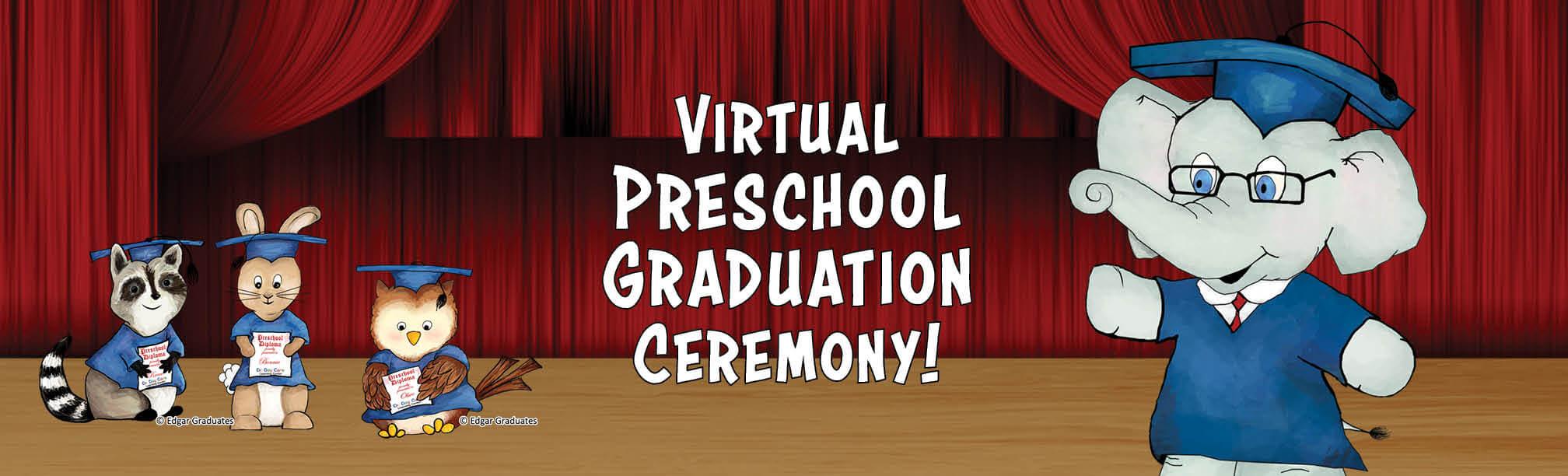 Preschool Graduation Ceremonies – Celebrate with us!